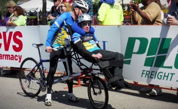 The incredible story of Rick and Dick Hoyt